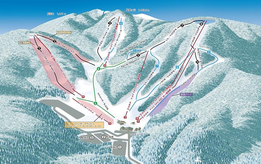 スノースクート,裏磐梯猫魔スキー場